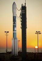 The Delta II Rocket on its Launch pad Fine-Art Print