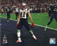 Julian Edelman Touchdown Super Bowl XLIX Fine-Art Print