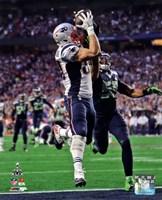 Rob Gronkowski Touchdown Super Bowl XLIX Fine-Art Print