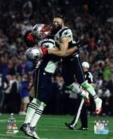 Rob Ninkovich & Julian Edelman Super Bowl XLIX Action Fine-Art Print