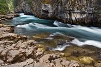 Maligne River, Maligne Canyon, Jasper NP, Canada Fine-Art Print