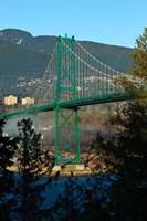 British Columbia, Vancouver, Lion's Gate Bridge Fine-Art Print