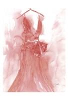 Marsala Ballgown 1 Fine-Art Print