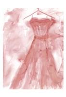Marsala Ballgown 2 Fine-Art Print