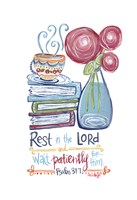 Rest in The Lord Fine-Art Print