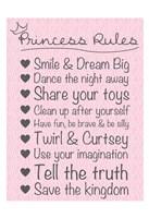 Princess Rules Soft Fine-Art Print