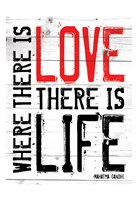 Love Life - Red Fine-Art Print