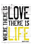Love Life - Yellow Fine-Art Print