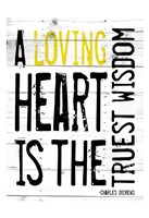 Loving Heart - Yellow Fine-Art Print