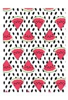 Watermelon Seeds Pattern Fine-Art Print