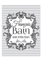 French Grey Bath 1 Fine-Art Print
