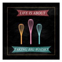 Taking Whisks Fine-Art Print