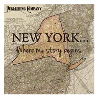 New York My Story Fine-Art Print