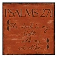 Psalms 27-1 Fine-Art Print