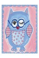 Blue Owl Fine-Art Print