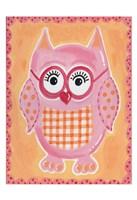 Pink Owl Fine-Art Print