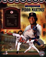 Pedro Martinez MLB Hall of Fame Legends Composite Fine-Art Print