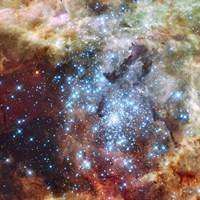 Merging Clusters in 30 Doradus (Non-annotated) Fine-Art Print