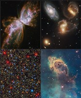 Hubble Servicing Mission 4 Early Release Observations Fine-Art Print