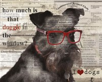 Doggie in the Window Fine-Art Print