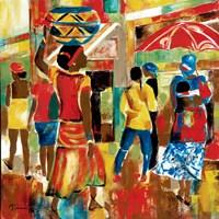 Market Day I Fine-Art Print