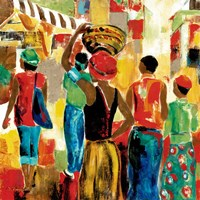 Market Day II Fine-Art Print