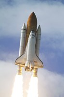 Space Shuttle Atlantis Lifts Off from Kennedy Space Center Fine-Art Print