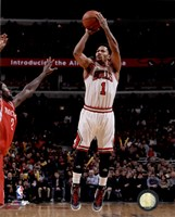Derrick Rose 2014-15 Action Fine-Art Print