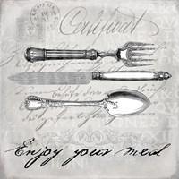 Vintage Cutlery I Fine-Art Print
