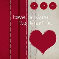 Button Heart II Fine-Art Print