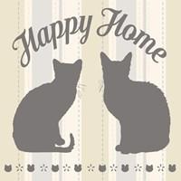 Happy Home Cats Fine-Art Print