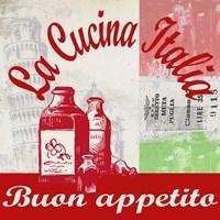 La Cucina Italia Fine-Art Print