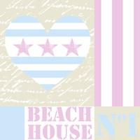 Beach House Love Fine-Art Print