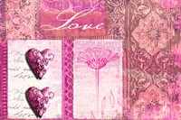 Home Love Pink Fine-Art Print