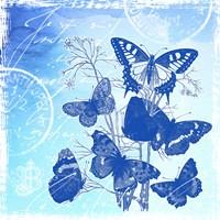 Vintage Butterflies Fine-Art Print
