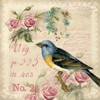 Vintage Bird Fine-Art Print