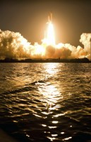 Lift-Off of Space Shuttle Discovery Fine-Art Print