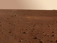 The Rocky Surface of Mars Fine-Art Print