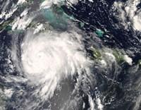 Hurricane Gustav over Jamaica Fine-Art Print