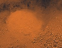 Hellas Planitia Region of Mars Fine-Art Print