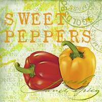 Farmer's Market Sweet Pepper Fine-Art Print