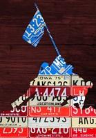 Iwojima License Plate Fine-Art Print