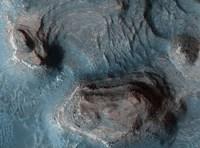 Mesas in the Nilosyrtis Mensae Region of Mars Fine-Art Print