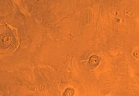 Tharsis Region of Mars Fine-Art Print