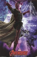 Avengers 2 - Vision Wall Poster
