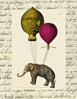 Elephant Ride II Fine-Art Print