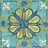 Tuscan Sun Tile IV Color Fine-Art Print
