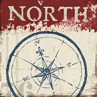 Nautical I Red Fine-Art Print