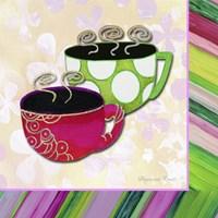 Tea Party I Framed Print