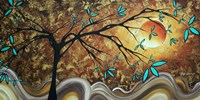 Apricot Moon Fine-Art Print